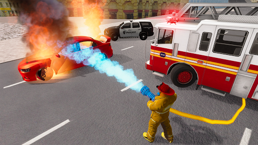 Fire Truck Driving Simulator 1.34 Screenshots 19