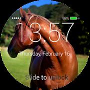 Horses Lock Screen