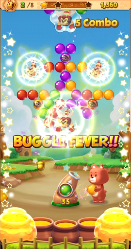 Bubble Buggle Pop: Free Match & Shooter Puzzle apkpoly screenshots 14
