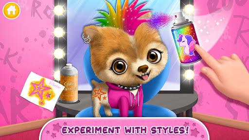 Rock Star Animal Hair Salon - Super Style & Makeup android2mod screenshots 7