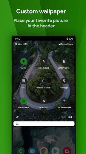 Power Shade: Notification Panel & Quick Settings apktram screenshots 4