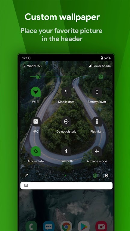 Power Shade: Notification Panel & Quick Settings poster 3