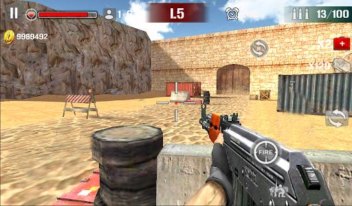 Sniper Shoot Fire War 1.2.5 screenshots 2