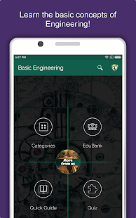 Basic Engineering Dictionary: Equations & Formulas Screenshot