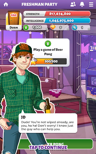 Party in my Dorm: College Life Roleplay Chat Game apktram screenshots 7