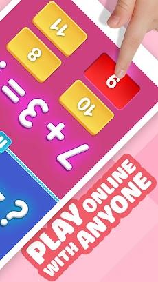 数学ゲーム–2プレイヤークール数学学習ゲームのおすすめ画像2