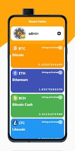 Techno Bitcoin Miner – Cloud Mining System For Android 2