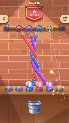 Tangle Fun - Can you untie all knots? apktreat screenshots 1