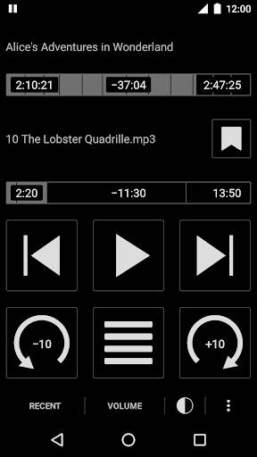 Simple Audiobook Player Free 1.7.14 screenshots 1