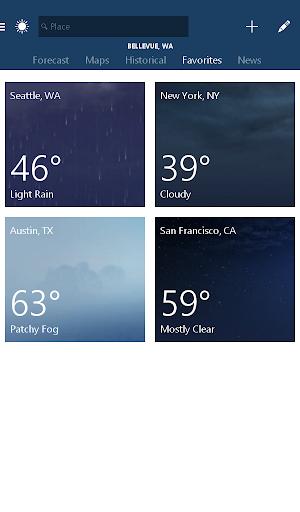 MSN Weather - Forecast & Maps 1.2.0 Screenshots 13