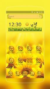 Sunflower Smile Launcher 1.1.9 Download Mod APK 1
