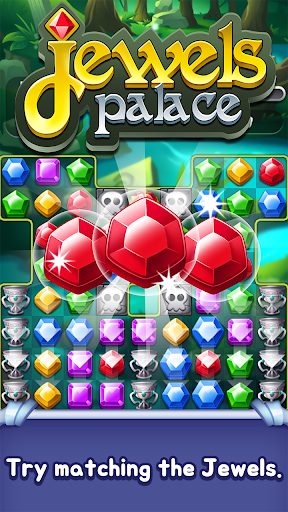 Jewels Palace: World match 3 puzzle master 1.11.2 screenshots 1