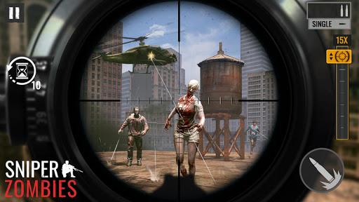 Zombies Sniper: Jeux de Zombie APK MOD – ressources Illimitées (Astuce) screenshots hack proof 1