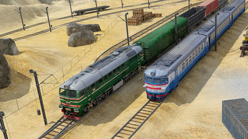 Train Simulator 2020: Modern Train Racing Games 3D 30.9 Screenshots 2