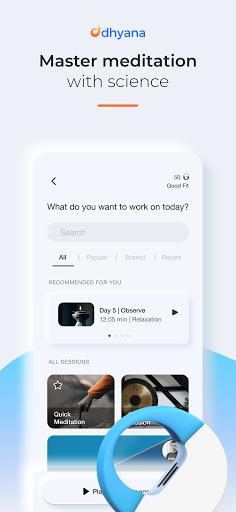 Dhyana - Meditation Tracker modiapk screenshots 1