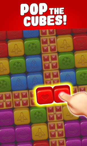 toon cat match - puzzle blast screenshot 1