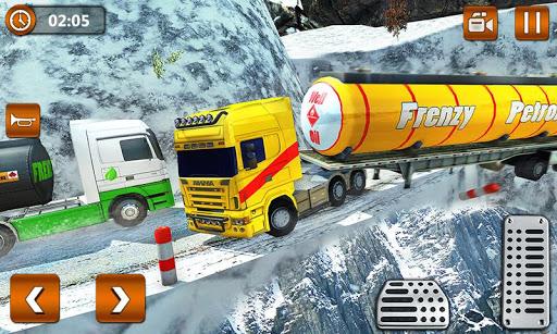 Offroad Oil Tanker Truck Transport Driver  Screenshots 3