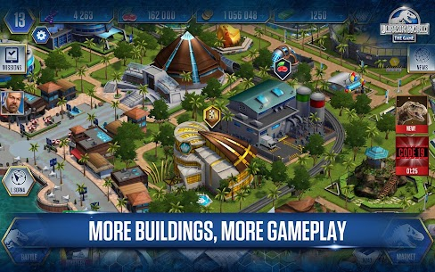 Jurassic World : The Game APK Download 16