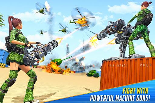 Real Commando Shooting Strike - Fps Shooting Games screenshots 2