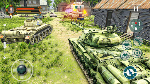 Battle of Tank games: Offline War Machines Games  screenshots 12