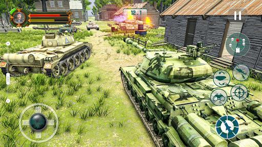 Battle of Tank games: Offline War Machines Games screenshots 19