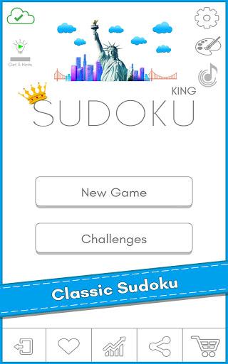 Sudoku Kingu2122 - Free Classic Sudoku puzzles 1.2 screenshots 9