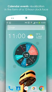 Sectograph. Planner & Time manager on clock widget 5.18 (Pro)