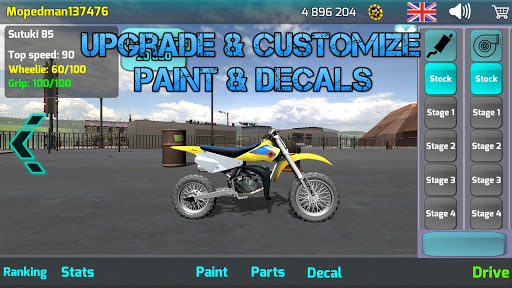 Wheelie King 4 - Online Wheelie Challenge 3D Game 1 screenshots 7