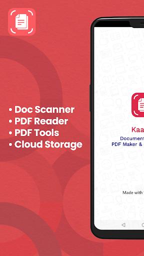 PDF Scanner, PDF Reader & Camera Scanner by Kaagaz 4.0.7 screenshots 1