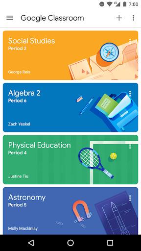 Google Classroom 6.12.501.02.40 screenshots 1