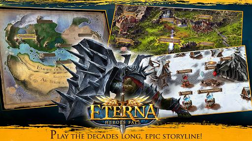 Code Triche Eterna: Heroes Fall - Deep RPG apk mod screenshots 5