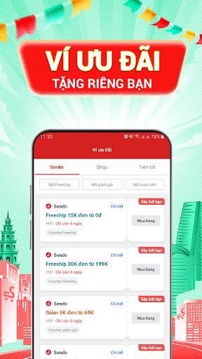Sendo: Chu1ee3 Viu1ec7t 9.9 - Mu00f9a Sale Tiu1ebft Kiu1ec7m android2mod screenshots 5