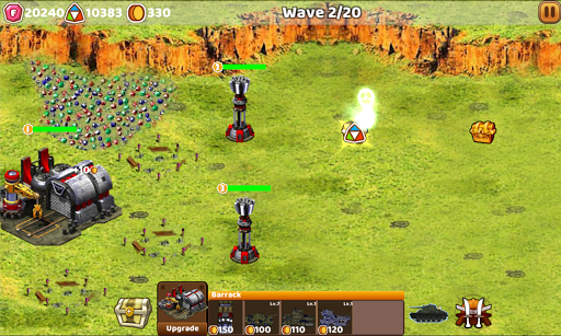Tank Defend: Red Alert Command 1.5.0 screenshots 2