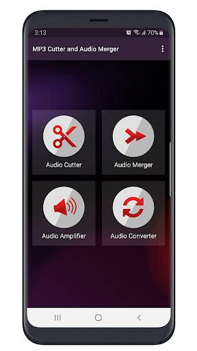 MP3 Cutter and Audio Merger  Screenshots 1