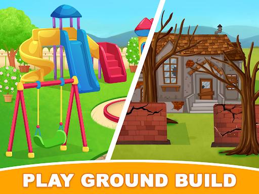 Construction Trucks & Vehicles : Build House Apkfinish screenshots 14