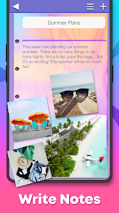 My Color Note Notepad 1.5.6 Screenshots 3