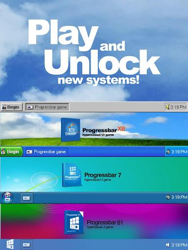 Progressbar95 - easy, nostalgic hyper-casual game Apkfinish screenshots 17
