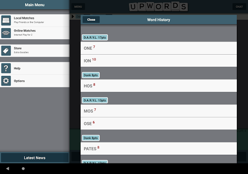 Upwords 2.017 screenshots 11