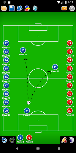 Coach Tactic Board: Soccer 1.3 Screenshots 4
