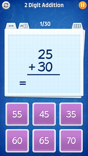 Math Games - Addition, Subtraction, Multiplication apkslow screenshots 8