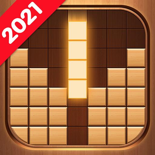 Wood Block Puzzle - Free Classic Brain Puzzle Game