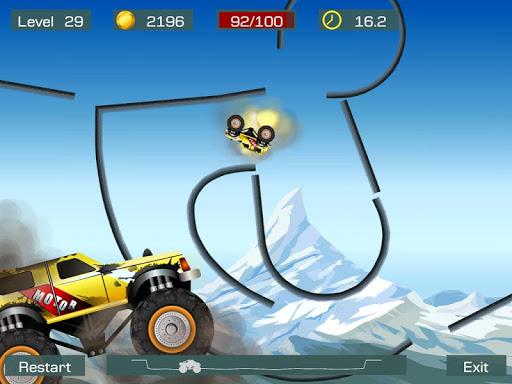 Monster Stunts -- monster truck stunt racing game apkpoly screenshots 10