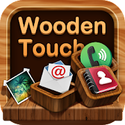 Wooden launcher theme &wallpaper