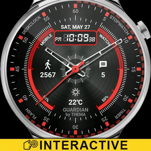 Guardian Watch Face & Clock Widget Icon