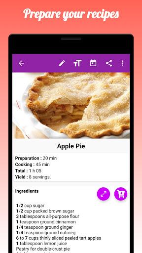 My Recipe Box : RecetteTek 5.9.6 Screenshots 2