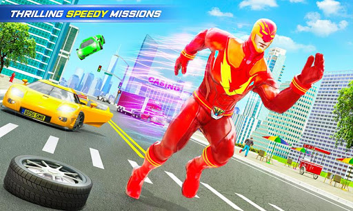 Grand Police Robot Speed Hero City Cop Robot Games 20 screenshots 4