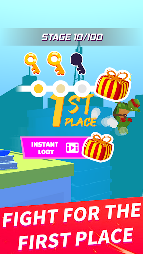 turtle parkour race 3d - free screenshot 3