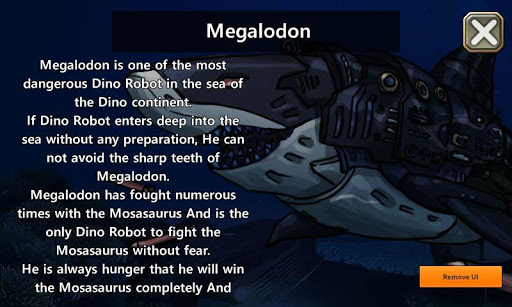 Dino Robot - Megalodon : Dinosaur game  screenshots 1