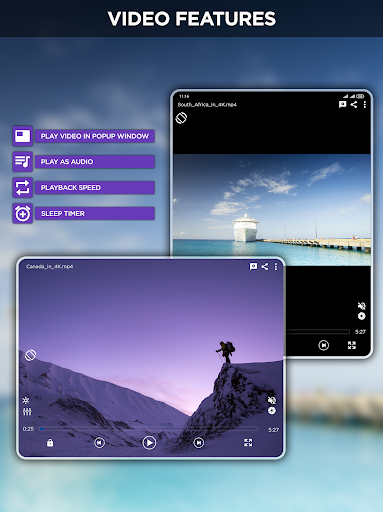 Mp4 HD Player - Music Player & Media Player 1.1.4 Screenshots 10
