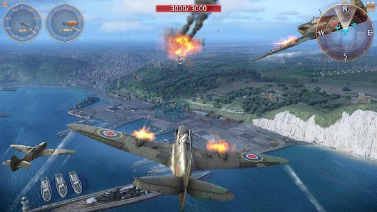 Sky Gamblers: Storm Raiders 2 MOD (Unlimited Weapons/Medals) 2